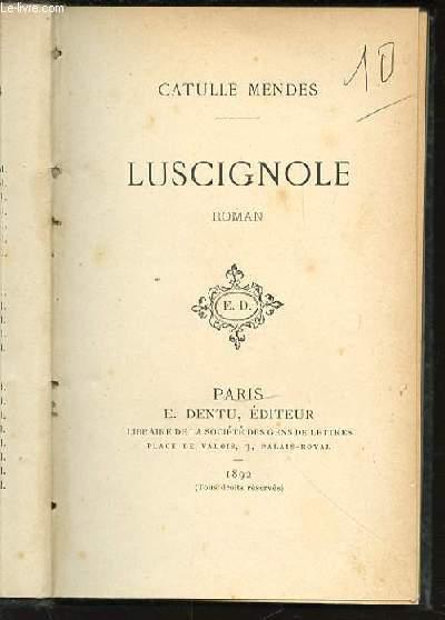 LUSCIGNOLE - ROMAN.