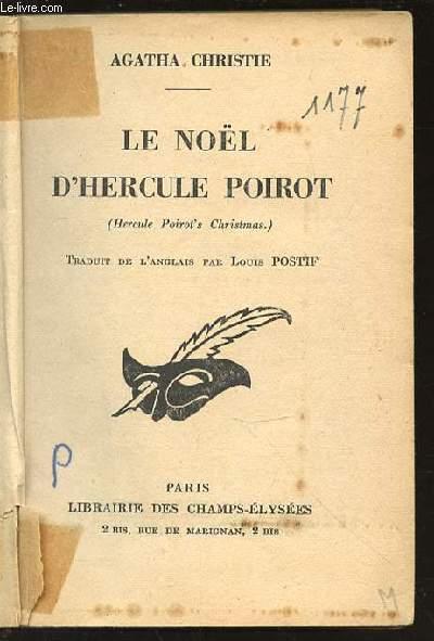 LE NOEL D'HERCULE POIROT - HERCULE POIROT'S CHRISTMAS.