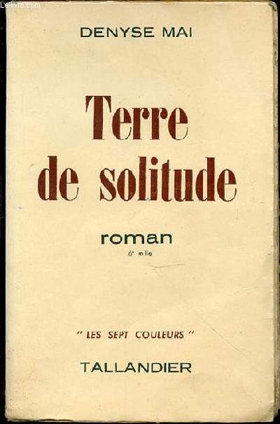 TERRE DE SOLITUDE - COLLECTION