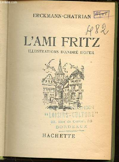L'AMI FRITZ.