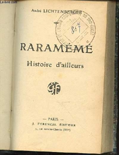 RARAMEME : HISTOIRE D'AILLEURS.