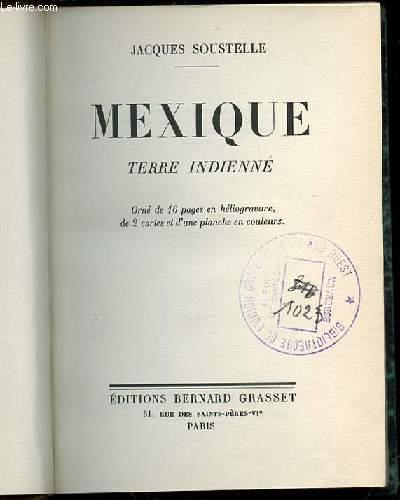 MEXIQUE TERRE INDIENNE.