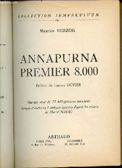 ANNAPURNA PREMIER 8.000 - COLLECTION SEMPERVIVUM N°16.