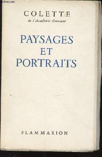 PAYSAGES ET PORTRAITS.
