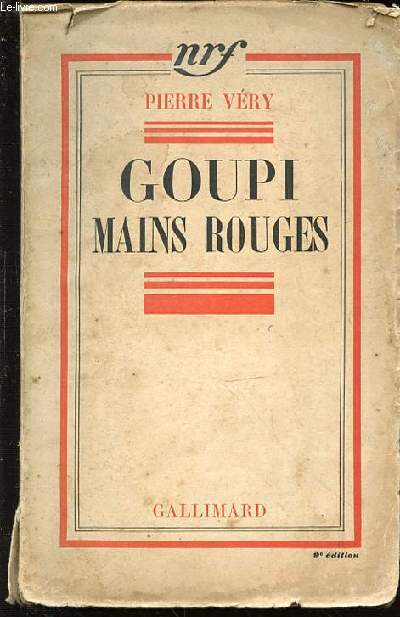 GOUPI MAINS ROUGES.