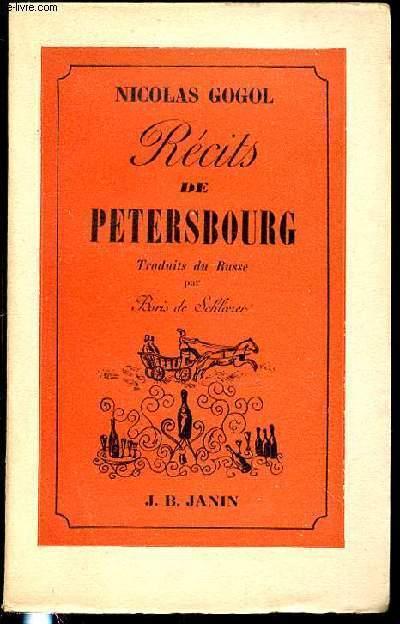 RECITS DE PETERSBOURG.