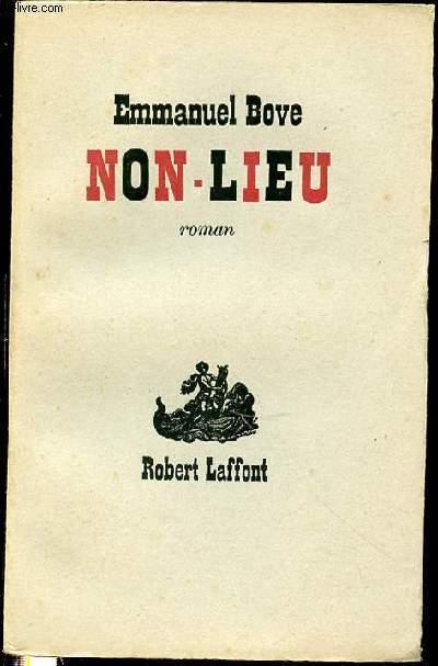 NON-LIEU - ROMAN.