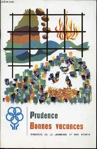 PRUDENCE - BONNES VACANCES.