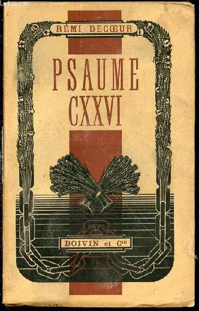 PSAUME CXXVI -