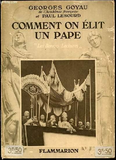COMMENT ON ELIT UN PAPE - COLLECTION