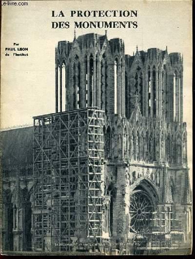 LA PROTECTION DES MONUMENTS - LA DOCUMENTATION FRANCAISE ILLUSTREE N°64 / AVRIL 1952.