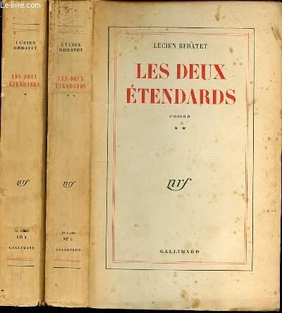 LES DEUX ETENDARDS EN 2 TOMES (1+2) - ROMAN.