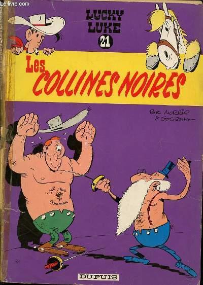 LES COLLINES NOIRES - LUCKY LUKE N°21 / DESSINS DE MORRIS.