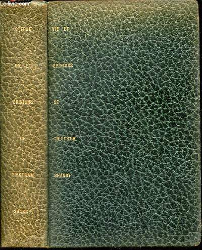 VIE ET OPINIONS DE TRISTRAM SHANDY, GENTILHOMME - COLLECTION