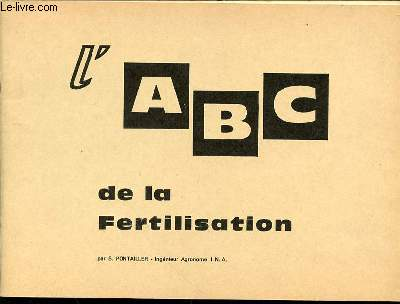L'ABC DE LA FERTILISATION.