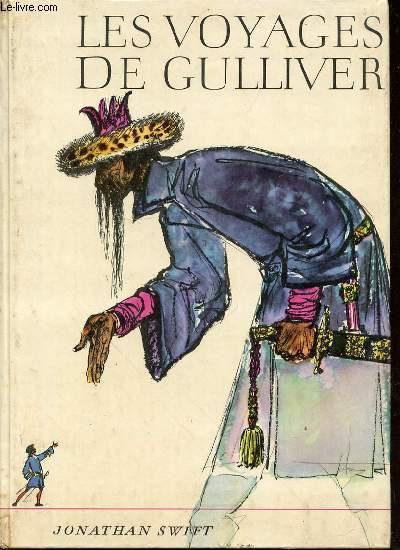 LES VOYAGES DE GULLIVER - ILLUSTRATIONS DE HANS BALTZER.