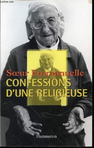 CONFESSIONS D'UNE RELIGIEUSE - POSTFACE DE PHILIPPE ASSO.