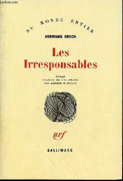 LES IRRESPONSABLES - COLLECTION