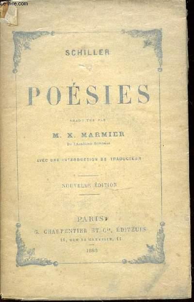 POESIES - TRADUITES PAR M. X. MARMIER / AVEC UNE INTRODUCTION DU TRADUCTEUR.
