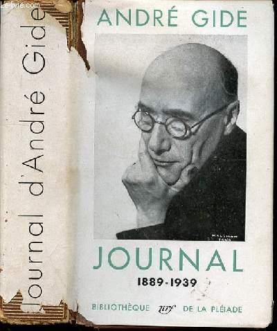 JOURNAL 1889-1939 - AVEC UN INDEX DES NOMS ET DES OEUVRES CITES.