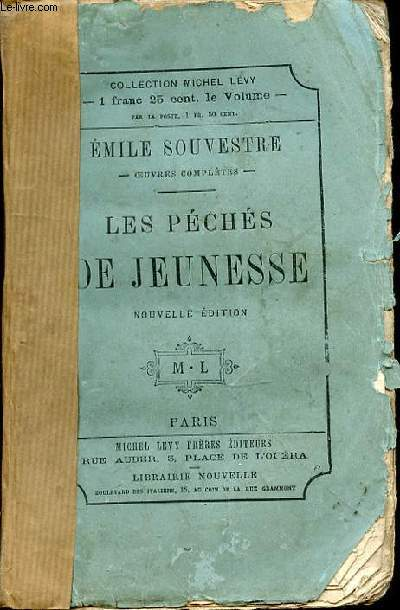 LES PECHES DE JEUNESSE - COLLECTION