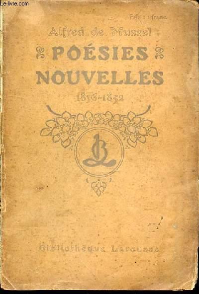 POESIES NOUVELLES : 1836-1852.