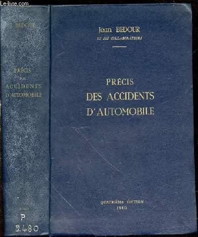 PRECIS DES ACCIDENTS D'AUTOMOBILE.