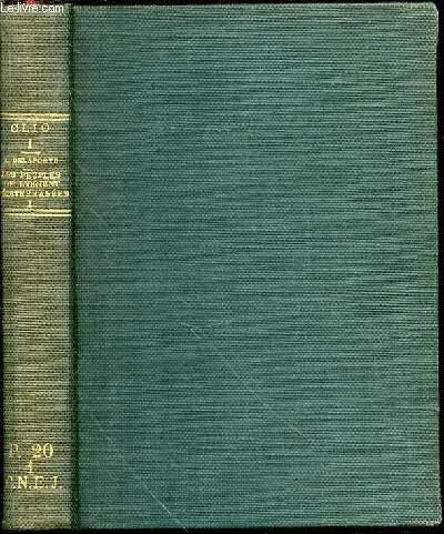 LES PEUPLES DE L'ORIENT MEDITERRANEEN - TOME 1 : LE PROCHE-ORIENT ASIATIQUE / COLLECTION