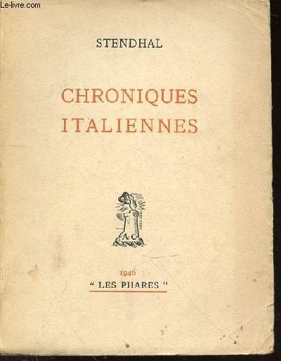 CHRONIQUES ITALIENNES - COLLECTION