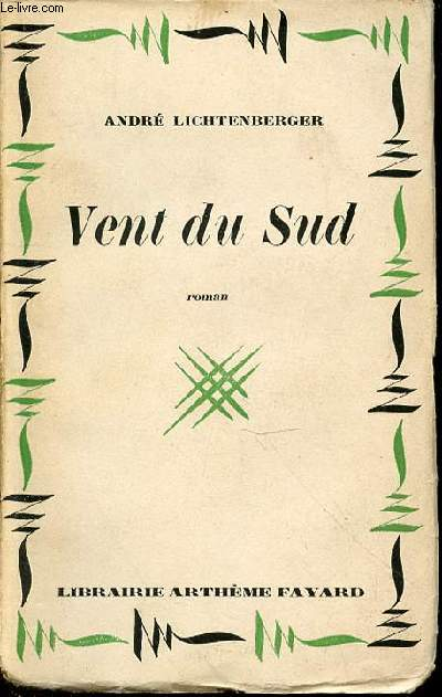 VENT DU SUD - ROMAN / COLLECTION