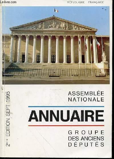 ANNUAIRE ASSEMBLEE NATIONALE : GROUPE DES ANCIENS DEPUTES.