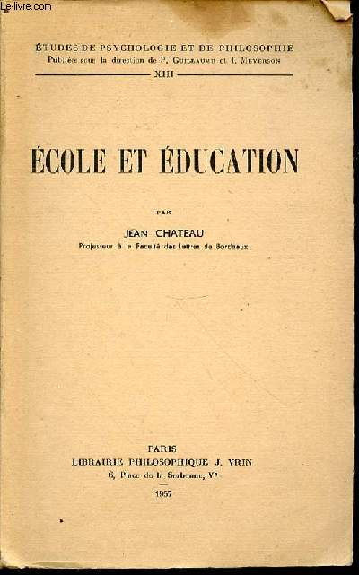 ECOLE ET EDUCATION - COLLECTION