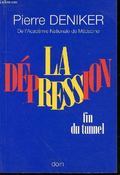 LA DEPRESSION : FIN DU TUNNEL.