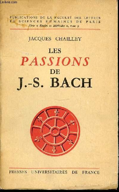 LES PASSIONS DE J.-S. BACH - SERIE