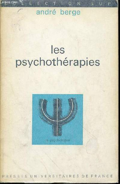 LES PSYCHOTHERAPIES - COLLECTION SUP N°31.