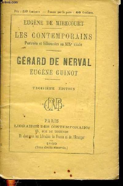 GERARD DE NERVAL + EUGENE GUINOT - COLLECTION