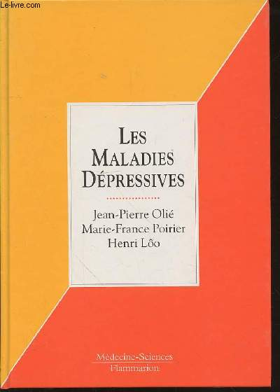 LES MALADIES DEPRESSIVES - COLLECTION