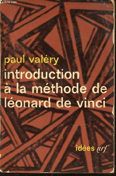 INTRODUCTION A LA METHODE DE LEONARD DE VINCI 1894.