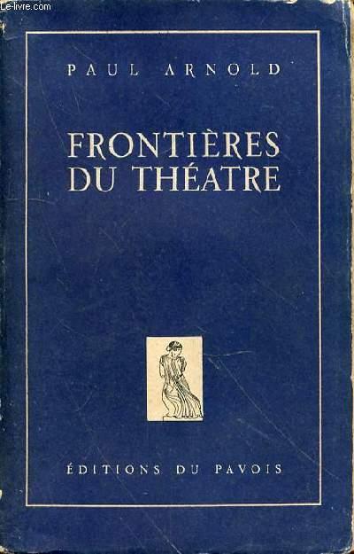 FRONTIERES DE THEATRE