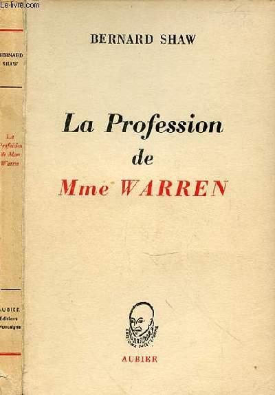 LA PROFESSION DE MME WARREN