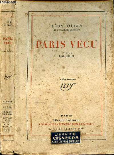 PARIS VECU