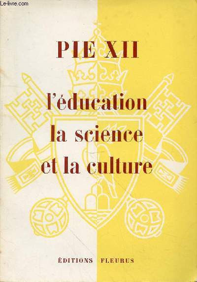 L'EDUCATION LA SCIENCE ET LA CULTURE
