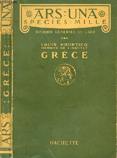 HISTOIRE GENERALE DE L'ART GRECE