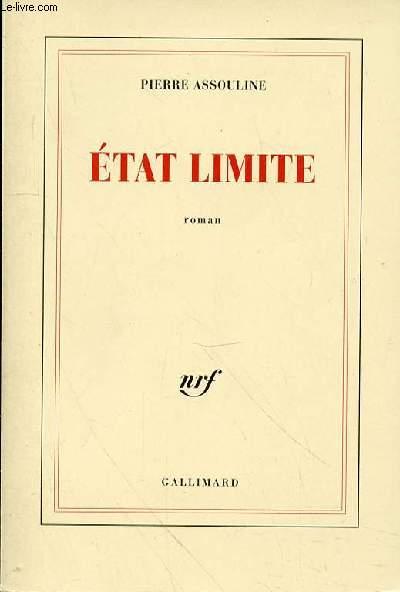 ETAT LIMITE
