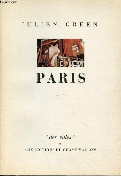 PARIS DES VILLES