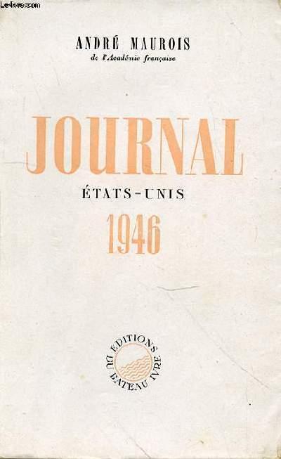 JOURNAL ETATS-UNIS 1946
