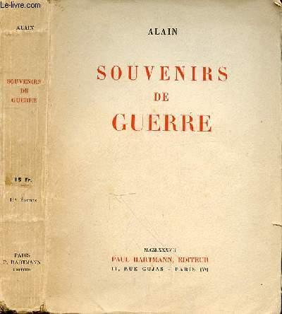 SOUVENIRS DE GUERRE