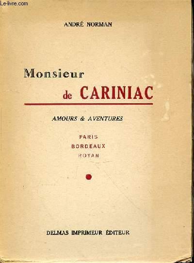 MONSIEUR DE CARINIAC