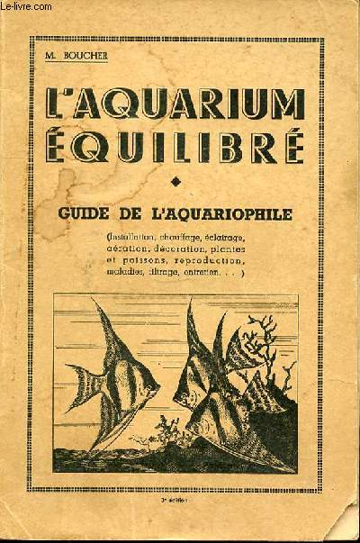 L'AQUARIUM EQUILIBRE