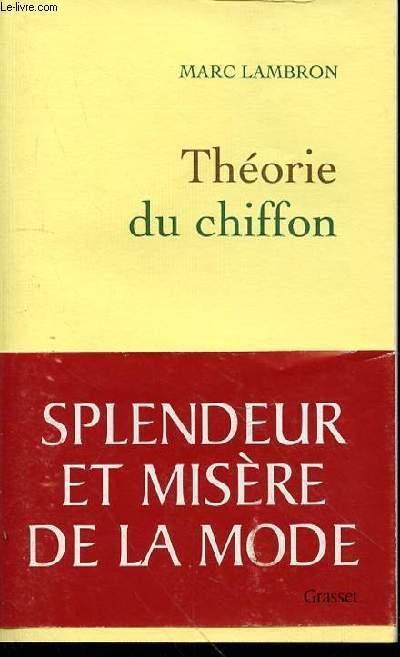 THEORIE DU CHIFFON
